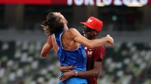 Pair's joyous deal to share high jump gold