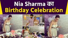 Nia Sharma Birthday Celebration Video Viral