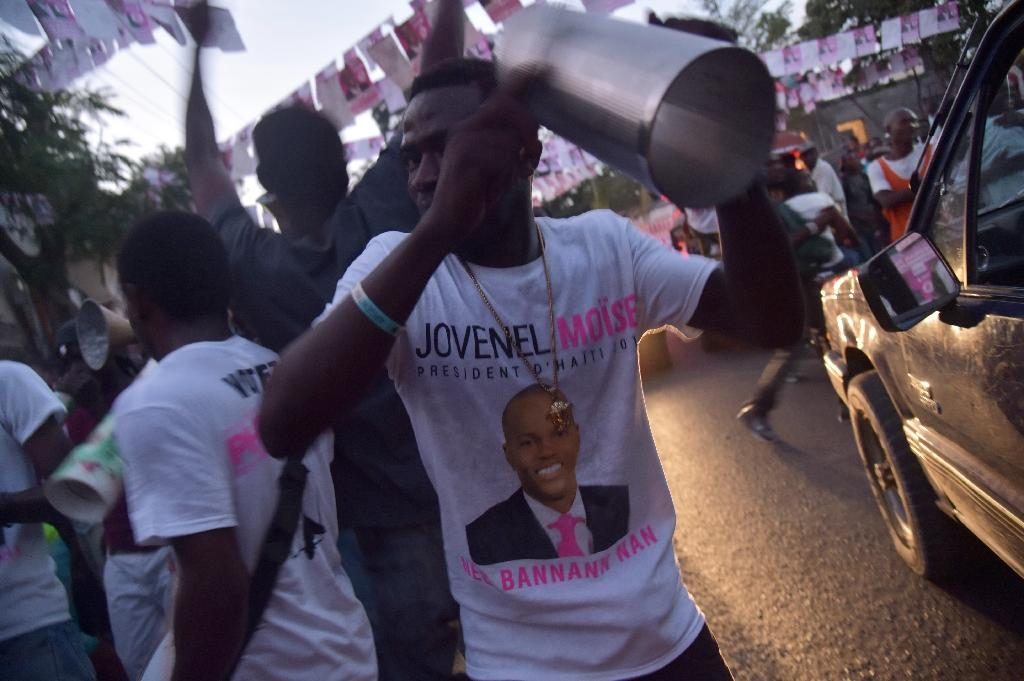The results of Haiti's October 2015 presidential election were scrapped and it took until November 2016 for a second election to be held (AFP Photo/HECTOR RETAMAL)