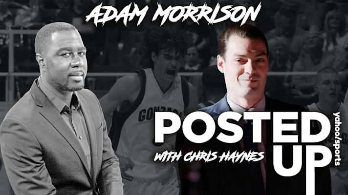 Posted Up - Adam Morrison on his NBA start: 'All the hype probably wasn't a good thing'