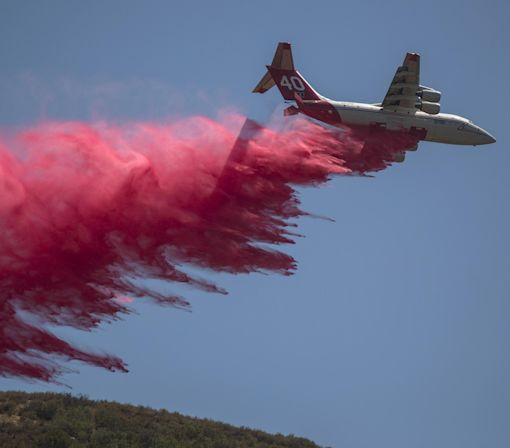 California Wildfire Still Rages as Evacuees Return Home