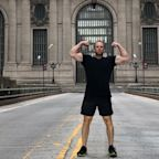 The 'Kettlebell Guy' hand-delivers hard to find weights in New York City during the pandemic