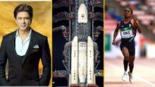 QuickE: SRK, Akshay on Chandrayaan 2 Launch, B'Town Lauds Hima Das