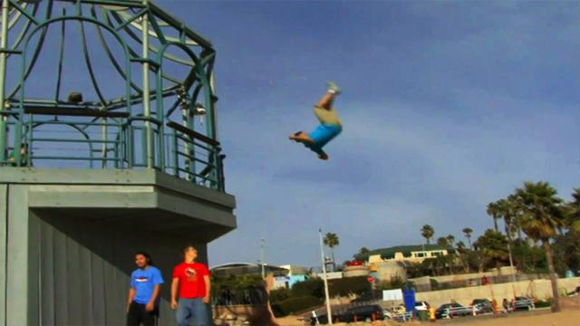 Stunt Nation – Extreme Parkour with Caine Sinclair and Solomon Brende