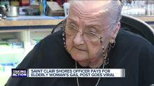 Uma pequena gentileza de um policial em um posto de gasolina viralizou