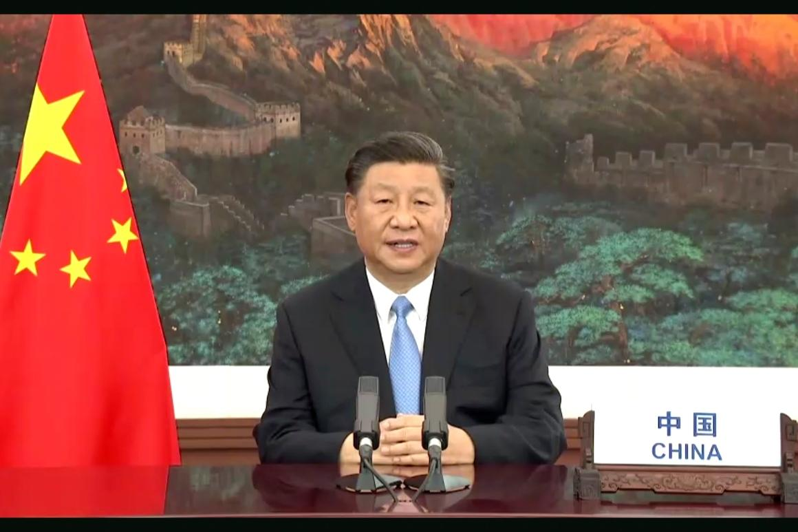 China's Xi pledges to ax carbon emissions by 2060