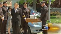 Funeral held for unidentified baby found in recycling center