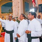 Sri Lankan president shakes up defense forces, says attack warnings went unheeded