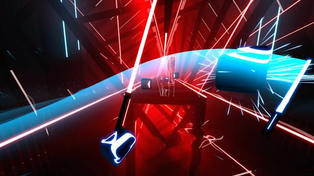 Rhythm hit 'Beat Saber' is coming to PlayStation VR