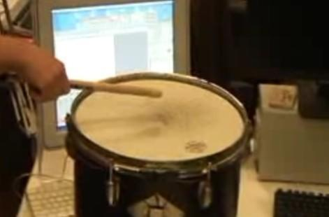 FielDrum magnetic drummer frees you from the tyranny of learning your instrument