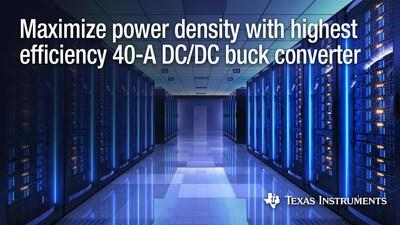 News post image: Stackable DC/DC buck converter maximizes power density in high-current FPGA and processor power supplies