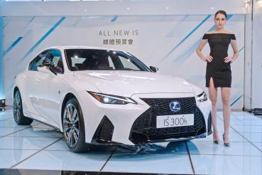 改款更動感、更好入手!全新Lexus IS預售價190萬元起展開接單