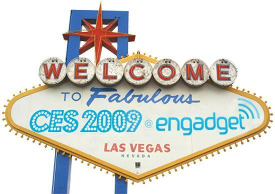 Engadget is live from CES 2009!