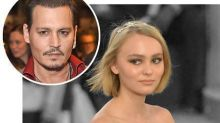 "Johnny Depp on Lily-Rose's Career: ""To Be Honest, I'm Quite Worried"""