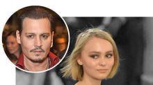 "Johnny Depp on Lily-Rose's Career:""To Be Honest, I'm Quite Worried"""