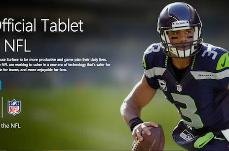 Microsoft paid NFL $400M for Surface deal; announcers call them iPads