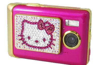 Tink Pink X Hello Kitty DC571 brings a touch of class to digicams