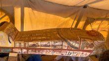 Égypte: 14 nouveaux sarcophages découverts dans la nécropole de Saqqara