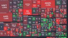 〈美股盤後〉蘋果掀科技股拋售潮  那指挫跌逾1% 道瓊終結連四漲
