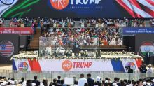 Praise, cheering crowds for Trump in India love fest