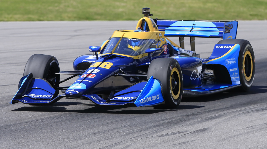 Adventurous start to Johnson's IndyCar career
