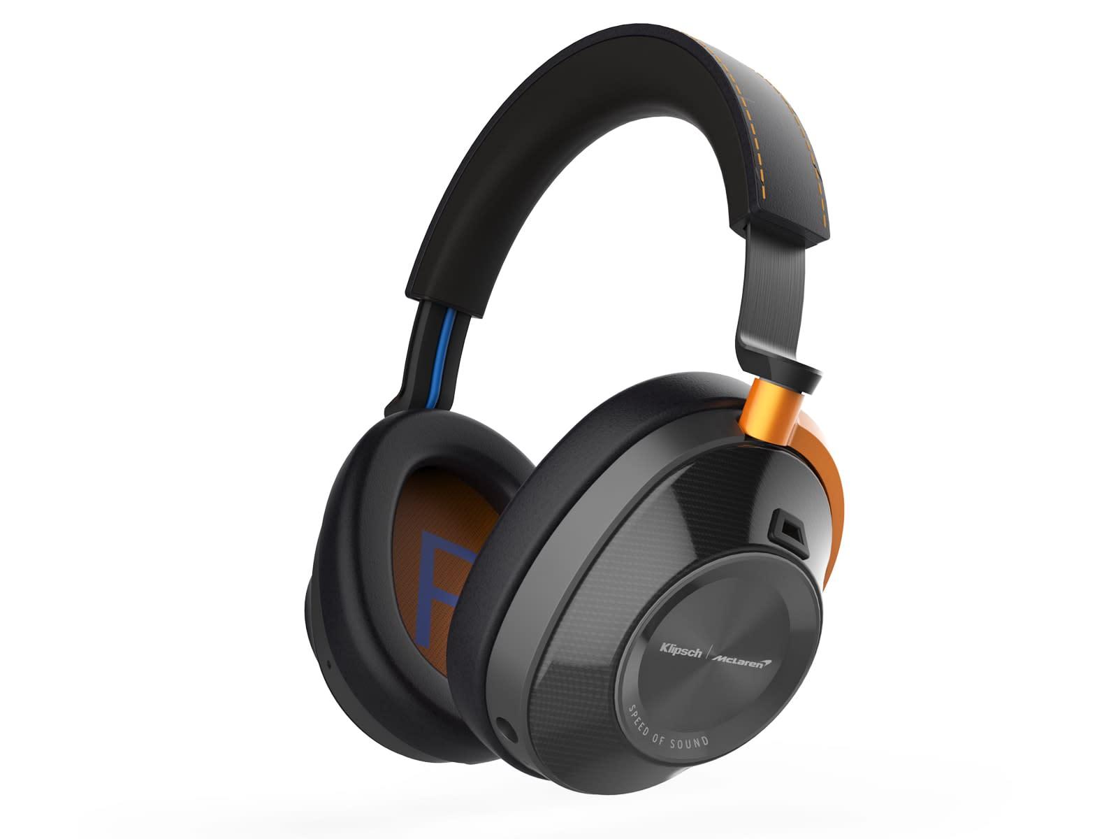Klipsch McLaren noise-cancelling headphones