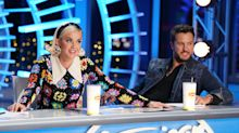 Katy Perry falls to the ground after gas leak at 'American Idol' auditions
