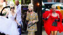 Wer kann, der kann: Lady Gaga trägt drei verschiedene Looks an einem Tag
