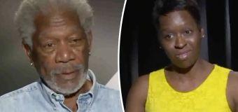 Video: Morgan Freeman hits on female reporter
