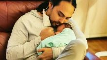 Jehan Miskin finally becomes a dad