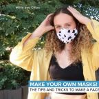 Making your own face mask