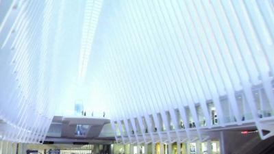 World Trade Center Transport Hub Taking Shape