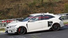 Honda Civic Type R Refresh Spied On The Nurburgring