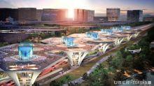 Uber 展出概念「空中計程車」與「空港」