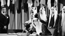 Did Jedi master Yoda help Saudi Arabia's King Faisal sign the 1945 UN Charter?