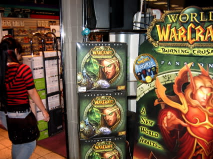 WoW Insider loses sleep for The Burning Crusade midnight launch