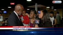 James Gray reacts to winning District E runoff election