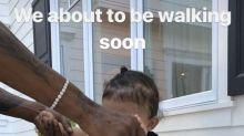La hija de Kylie Jenner empezará a andar 'muy pronto'