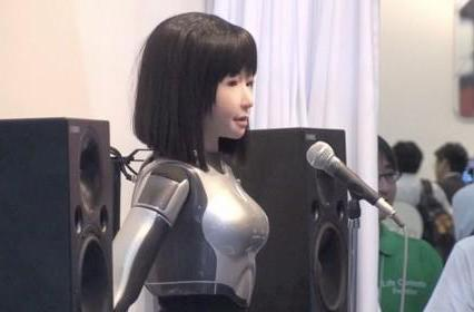 Yamaha's singing robot quietly trolls, slyly frightens at CEATEC (video)