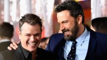 Ben Affleck Teases Matt Damon With Epic Throwback Pics in Honor of #OldHeadshotDay