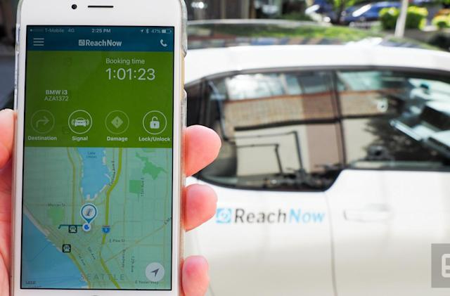 BMW expands ReachNow car sharing service in Seattle