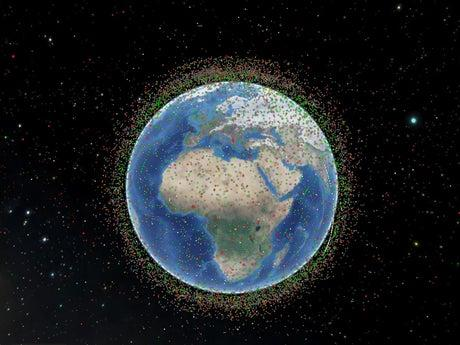 Space debris mission launches to clean up waste floating around Earth