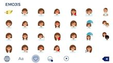 Finally! Emojis for Curly Girls