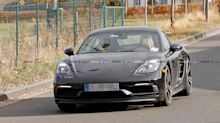Porsche 718 Cayman T spied accelerating hard at the Nürburgring