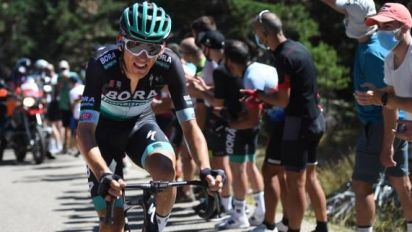 Cyclisme - Dauphiné - Lennard Kämna remporte la 4e étape à Megève