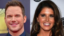 Chris Pratt Kisses Katherine Schwarzenegger On Church Date With Son