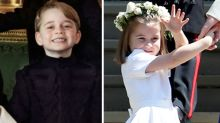 The sweet secret behind George and Charlotte's good behaviour