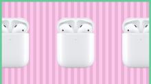 Los AirPods con cargador inalámbrico de Apple, rebajados 60 dólares en Amazon