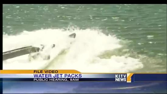 Concerns for water jet packs grow