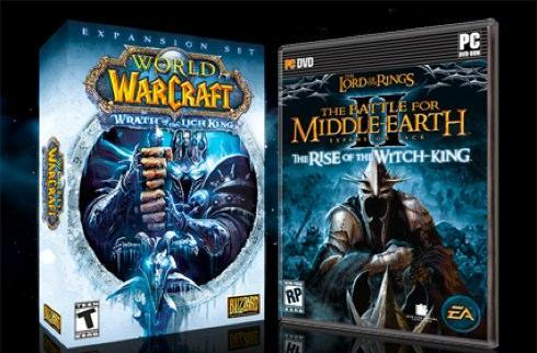 Just for giggles: Lich King vs Witch-King box art